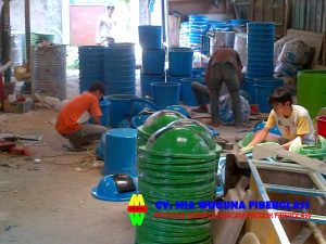 pabrik tempat sampah fiber